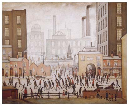 Lowry at Tate Britain, Coming from the mill exhibition review