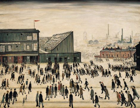 Going to the match, exhibition review Lowry